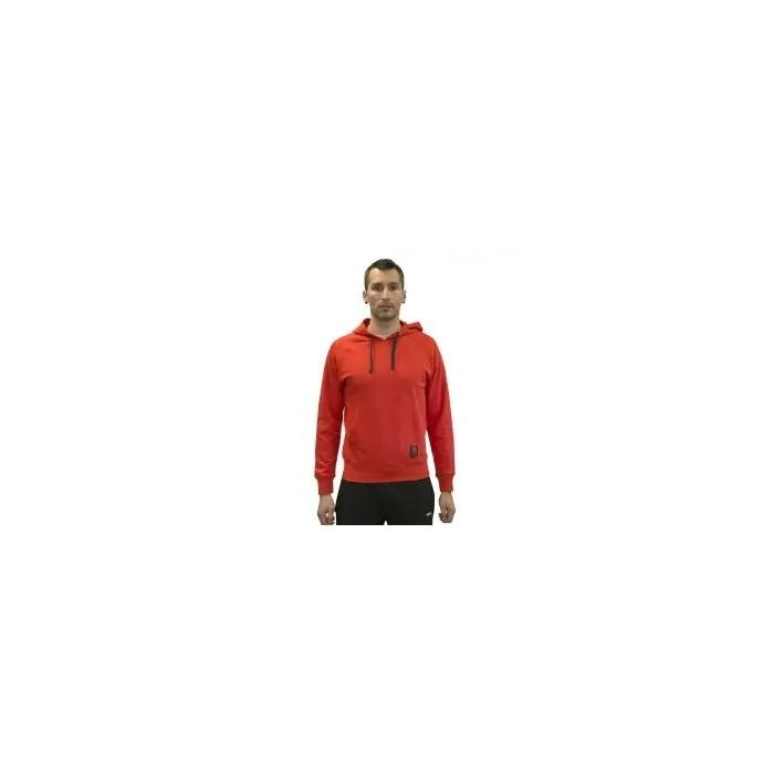 sudadera con capucha, color rojo