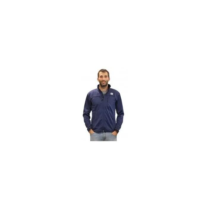 chaqueta ligera de hombre color azul marino