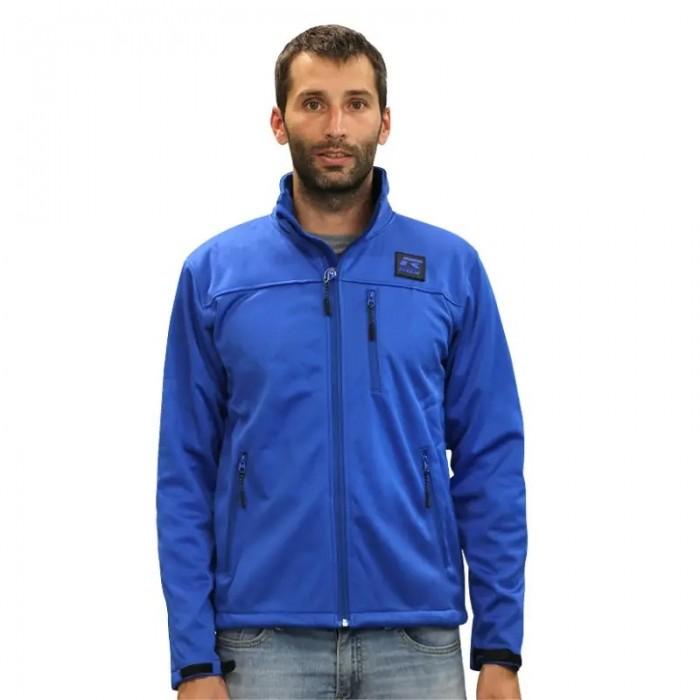 chaqueta ligera de hombre color azul royal