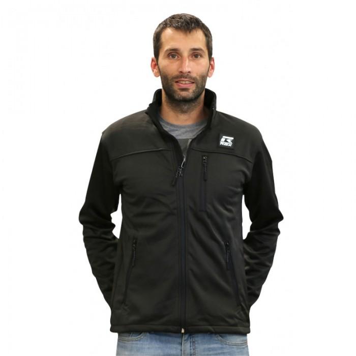 chaqueta ligera de hombre color negro
