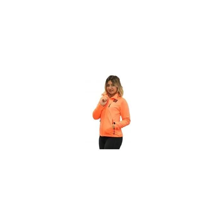 chaqueta ligera de niña color coral