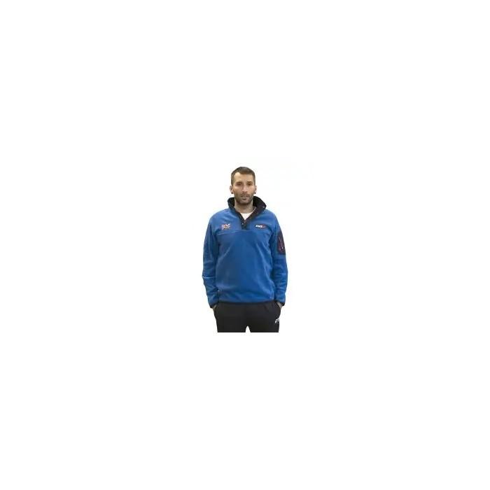 forro polar de hombre color azul royal