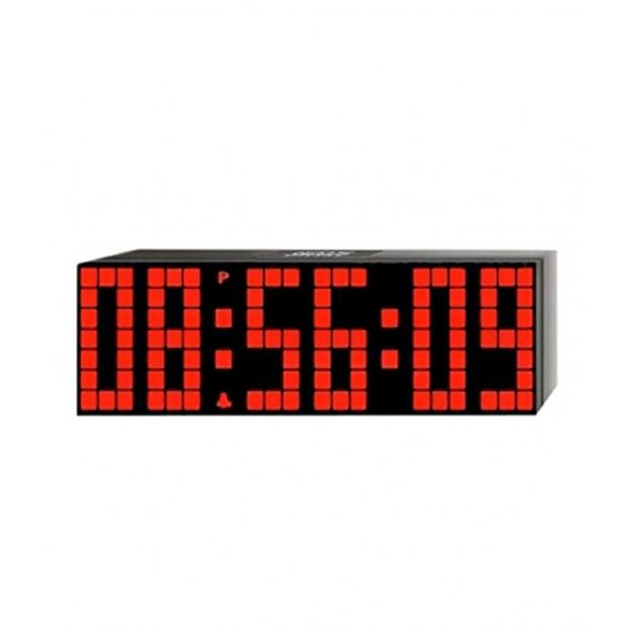 reloj de pared con luz led