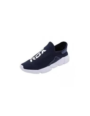 zapatillas sin cordones azul marino