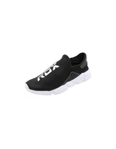 zapatillas sin cordones negro