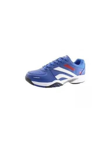 zapatillas de pádel en color azul