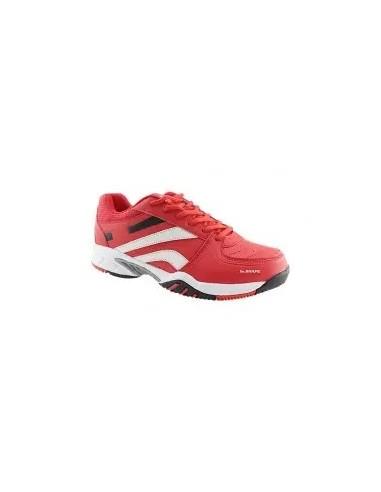 zapatillas de pádel en color rojo