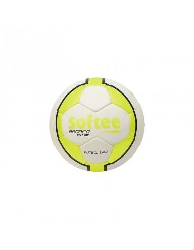 balón de futbol color amarillo talla 7