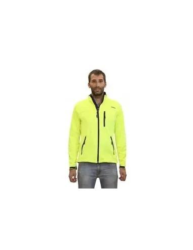 chaqueta ligera de niño color  fluor
