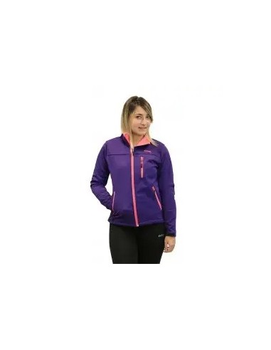chaqueta ligera de niña color violeta