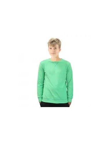 forro polar de niño color verde