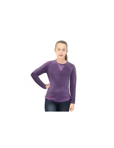 forro polar de niña color violeta