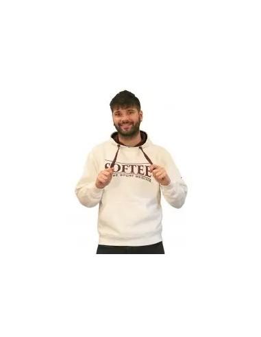 Sudadera con capucha para hombre blanco