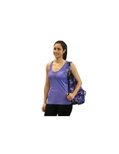 camiseta de tirantes de mujer color violeta