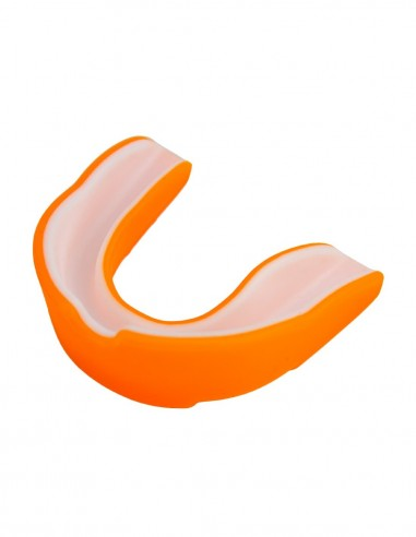 bucal doble capa infantil  naranja