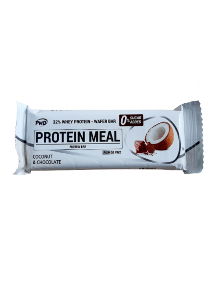 protein  meal coconut y chocolate