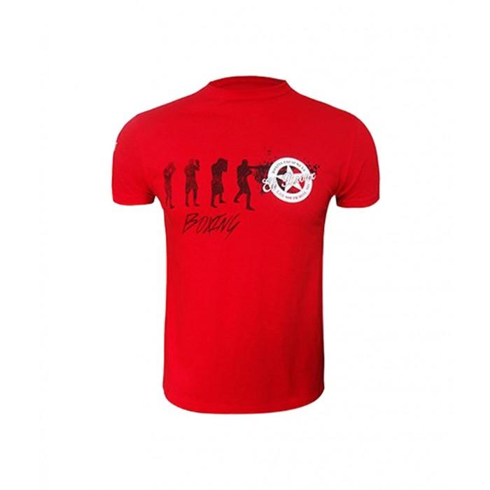 camiseta boxeadores roja el bronx
