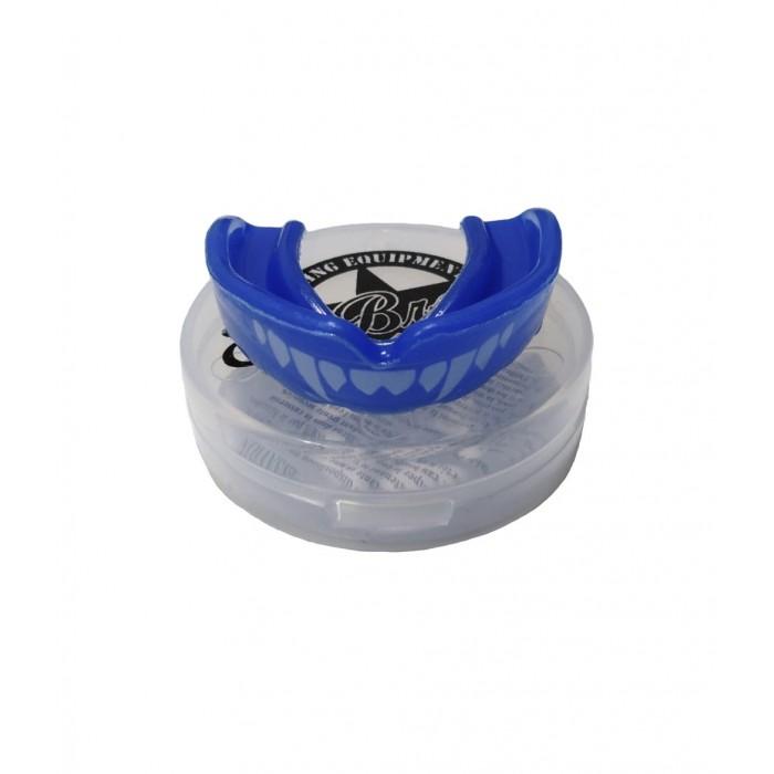 bucal colmillos azul