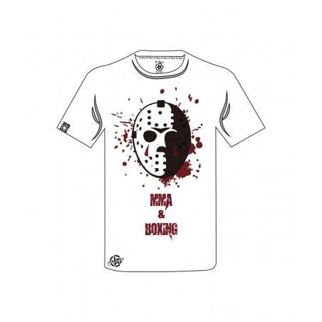 camiseta blanca el bronx Jacson mask